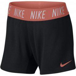 Nike Szorty Dziewczęce G Nk Dry Short Trophy Black Lt Atomic Pink S. Czarne spodenki dziewczęce Nike, z materiału, sportowe. Za 105,00 zł.