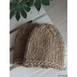 Czapki zimowe damskie: Wełniana czapka