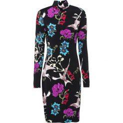 Sukienka bonprix czarny z nadrukiem. Czarne sukienki balowe marki Cropp, l. Za 109,99 zł.