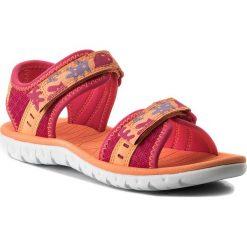 Sandały dziewczęce: Sandały CLARKS – Surfing Skies 261313616 Berry Combi