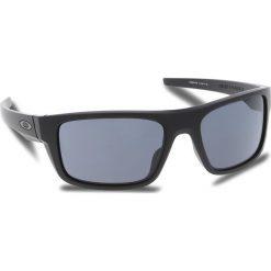 Okulary przeciwsłoneczne OAKLEY - Drop Point OO9367-0160 Matte Black/Grey. Czarne okulary przeciwsłoneczne męskie aviatory Oakley, z tworzywa sztucznego. W wyprzedaży za 449,00 zł.
