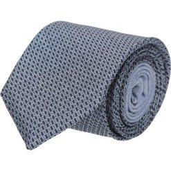 Krawat winman granatowy classic 204. Niebieskie krawaty męskie Recman, w geometryczne wzory, z bawełny. Za 129,00 zł.