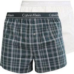 Bokserki męskie: Calvin Klein Underwear SLIM FIT 2 PACK Bokserki green
