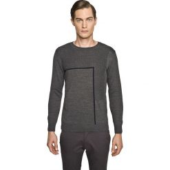 Sweter slam półgolf szary. Szare swetry klasyczne męskie Recman, m, z golfem. Za 229,00 zł.