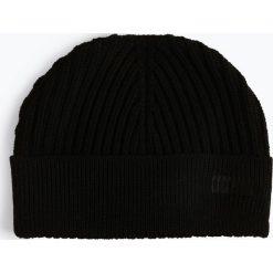 HUGO - Czapka męska – Xianno 1, czarny. Czarne czapki męskie HUGO, z dzianiny. Za 219,95 zł.