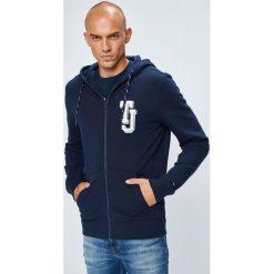 Tommy Jeans - Bluza. Niebieskie bejsbolówki męskie Tommy Jeans, l, z bawełny, z kapturem. W wyprzedaży za 319,90 zł.