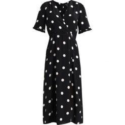 Sukienki hiszpanki: New Look WRAP MIDI DRESS Sukienka letnia black