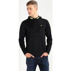GStar CARNIX SLIM Bluza z kapturem black. Czarne bluzy męskie rozpinane marki G-Star, m, z bawełny, z kapturem. W wyprzedaży za 356,15 zł.