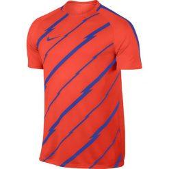 Nike Koszulka męska Dry Squad Top SS GX pomarańczowa r. M (832999 852). Brązowe koszulki sportowe męskie marki Nike, m. Za 103,58 zł.