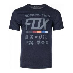 T-shirty męskie: FOX T-Shirt Męski Draftr Ss Tech Xxl Niebieski
