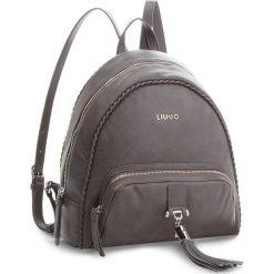 Plecak LIU JO - Backpack Piave A68116 E0027 Grape Juice 93803. Szare plecaki damskie Liu Jo, ze skóry ekologicznej, eleganckie. Za 649,00 zł.