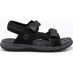 Timberland - Sandały. Czarne sandały męskie marki Timberland, z gumy. W wyprzedaży za 239,90 zł.