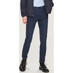 Rurki męskie: Spodnie skinny fit – Granatowy
