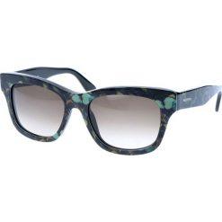 """Okulary przeciwsłoneczne damskie: Okulary przeciwsłoneczne """"V720SB"""" w kolorze granatowym ze wzorem"""