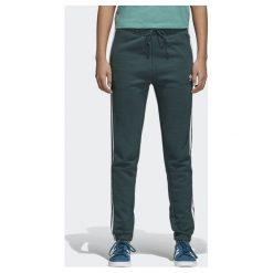 Adidas Spodnie damskie dresowe z mankietem zielone r. 36 (CE5608). Spodnie dresowe damskie Adidas, z dresówki. Za 213,61 zł.