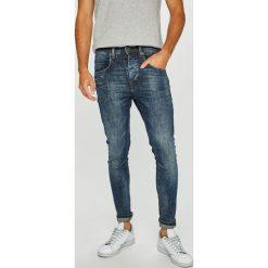 Blend - Jeansy. Brązowe jeansy męskie z dziurami marki Blend, l, z bawełny, bez kaptura. Za 259,90 zł.