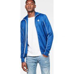 G-Star Raw - Bluza. Brązowe bluzy męskie rozpinane marki SOLOGNAC, m, z elastanu. Za 469,90 zł.