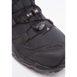 Adidas Performance TERREX SWIFT  Obuwie hikingowe core black/dark grey. Czarne buty sportowe męskie adidas Performance, z materiału, outdoorowe. W wyprzedaży za 359,20 zł.