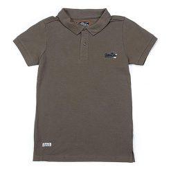 T-shirty chłopięce z krótkim rękawem: Koszulka polo w kolorze khaki