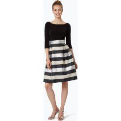 Sukienki hiszpanki: Swing - Damska sukienka koktajlowa, czarny