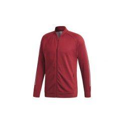 Bluzy dresowe adidas  Bluza ID Knit Bomber. Czerwone bejsbolówki męskie Adidas, l, z dresówki. Za 379,00 zł.