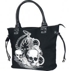 Banned Alternative Back In Black Torebka - Handbag czarny. Czarne torebki klasyczne damskie Banned Alternative, z nadrukiem, z nadrukiem. Za 121,90 zł.