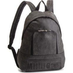 Plecak MUSTANG - Hamptons 4100000169 Black 900. Szare plecaki damskie Mustang, ze skóry ekologicznej. Za 349,00 zł.