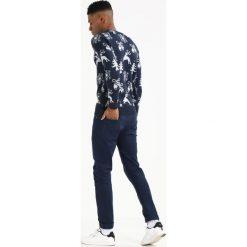 Swetry klasyczne męskie: Solid SNOWFLAKE Sweter insignia blue