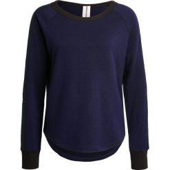 Bluzy damskie: super.natural 3D RIBBED  Bluza deep purple