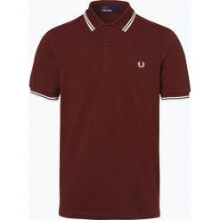 Koszulki polo: Fred Perry – Męska koszulka polo, czerwony