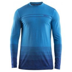 Odzież termoaktywna męska: Craft Koszulka Męska Wool Comfort Niebieska M