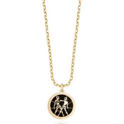 RABAT Złoty Wisiorek - złoto żółte 585, Onyks. Żółte łańcuszki męskie marki W.KRUK, złote. W wyprzedaży za 249,00 zł.
