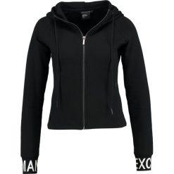 Armani Exchange Bluza rozpinana black. Czarne kardigany damskie Armani Exchange, s, z bawełny. W wyprzedaży za 407,20 zł.