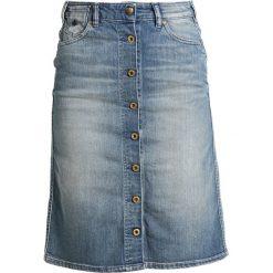 Spódniczki trapezowe: Scotch & Soda LADY LUCK Spódnica trapezowa blue denim