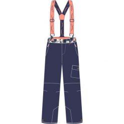 Bryczesy damskie: IGUANA Spodnie Damskie Nolani W Patriot Blue/Triangles Navy Print r. XL