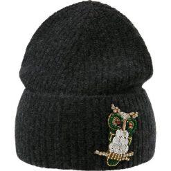 WEEKEND MaxMara ANCORA Czapka dunkelgrau. Szare czapki zimowe damskie WEEKEND MaxMara, z materiału. Za 479,00 zł.
