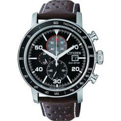 ZEGAREK CITIZEN Chrono CA0641-24E. Czarne, analogowe zegarki męskie CITIZEN, sztuczne. Za 890,00 zł.