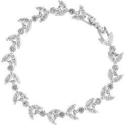 Wyjątkowa Bransoletka - mosiądz, Cyrkonia. Czarne bransoletki damskie na nogę marki Stylowa biżuteria, srebrne. Za 249,00 zł.