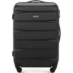 Walizka średnia 56-3A-362-10. Czarne walizki marki Wittchen, średnie. Za 199,00 zł.