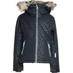 Roxy JET SO GIRL Kurtka snowboardowa true black/gana emboss. Czarne kurtki dziewczęce sportowe Roxy, z materiału, narciarskie. W wyprzedaży za 439,20 zł.