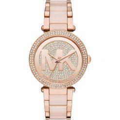 Zegarek MICHAEL KORS - Parker MK6176 Rose Gold/Rose Gold. Czerwone zegarki damskie Michael Kors. Za 1550,00 zł.
