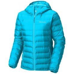Columbia Damska Kurtka Ocieplana Lake 22 Hooded Jacket Atoll S. Niebieskie kurtki sportowe damskie Columbia, s, z puchu. Za 569,00 zł.