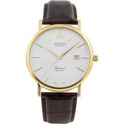 Zegarek Atlantic Zegarek męski Seacrest srebny r. uniwersalny. Szare zegarki męskie Atlantic. Za 1705,30 zł.