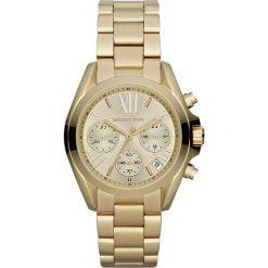 Zegarek MICHAEL KORS - Mini Bradshaw MK5798 Gold/Gold. Żółte zegarki damskie Michael Kors. Za 1290,00 zł.