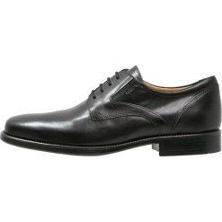 Geox FREDERICO Eleganckie buty black. Czarne buty wizytowe męskie marki Geox, ze skóry, na sznurówki. Za 599,00 zł.