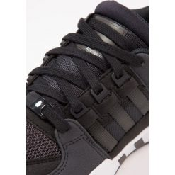 Adidas Originals EQT SUPPORT  Tenisówki i Trampki core black/carbon/footwear white. Czarne tenisówki męskie adidas Originals, z materiału. W wyprzedaży za 341,10 zł.