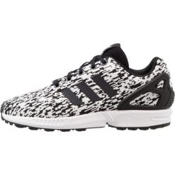 Adidas Originals ZX FLUX  Tenisówki i Trampki core black/footwear white. Czarne tenisówki męskie marki adidas Originals, z materiału. Za 279,00 zł.