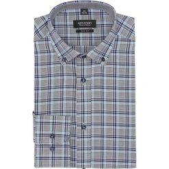 Koszula bexley 2458 długi rękaw slim fit granatowy. Szare koszule męskie slim marki Recman, na lato, l, w kratkę, button down, z krótkim rękawem. Za 139,00 zł.