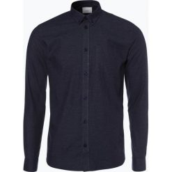 Minimum - Koszula męska – Jay 2.0, niebieski. Niebieskie koszule męskie na spinki Minimum, l, z bawełny. Za 249,95 zł.