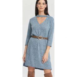 Sukienki: Niebieska Sukienka So Excited!